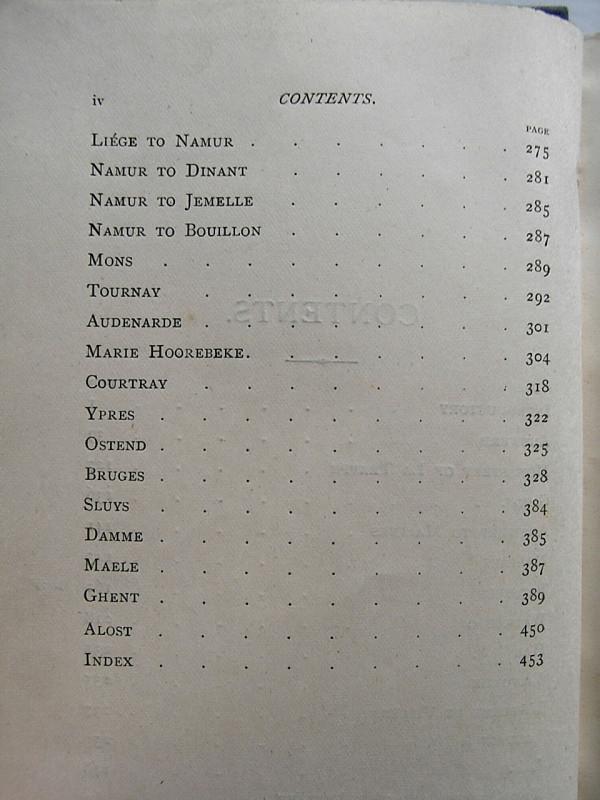 WALKS IN BELGIUM Amelia M. and John B. Marsh 1873 (8)